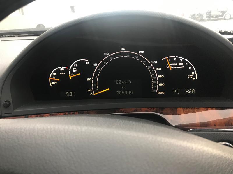 Mercedes-Benz S 55 AMG 500 кс на части, снимка 8