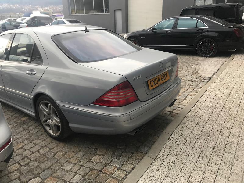 Mercedes-Benz S 55 AMG 500 кс на части, снимка 11