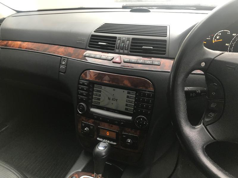 Mercedes-Benz S 55 AMG 500 кс на части, снимка 7