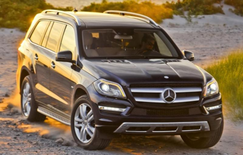 Mercedes-Benz GL 350 Bluetech на части